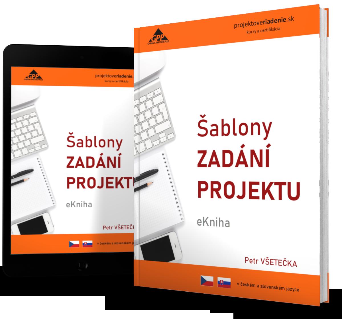 projektové riadenie šablony zadani projektu eKniha 1s
