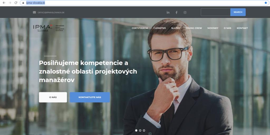 ipma slovakia web